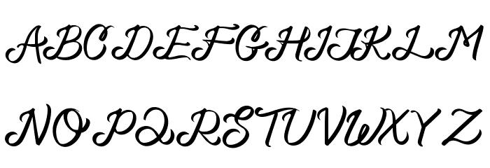 Basheera フォント 大文字