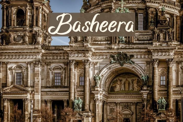 Basheera フォント examples