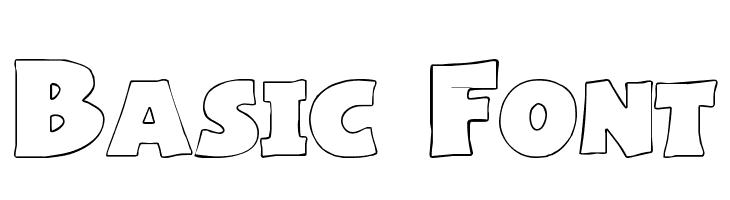 Basic Font  नि: शुल्क फ़ॉन्ट्स डाउनलोड