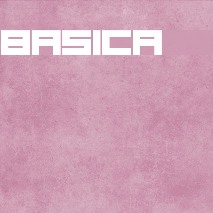Basica 2.0 Fonte examples
