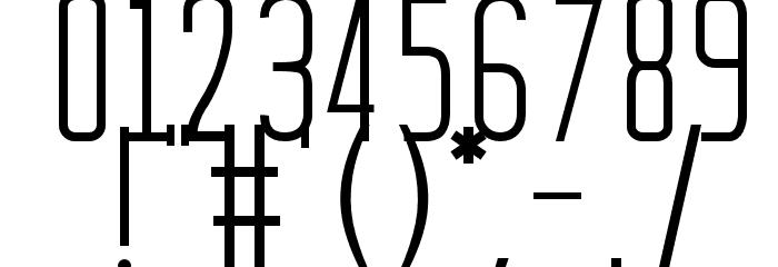 Batavia Regular Font Alte caractere