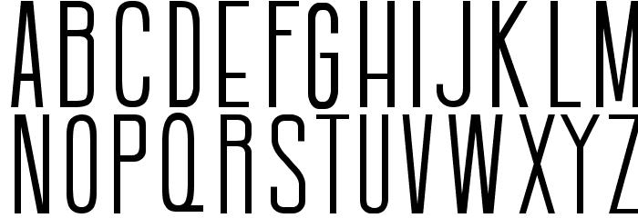 Batavia Regular Font Litere mari