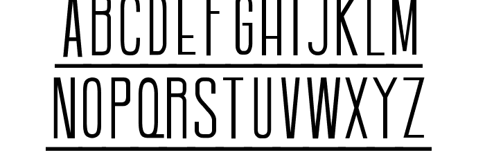 Batavia Regular Font Litere mici