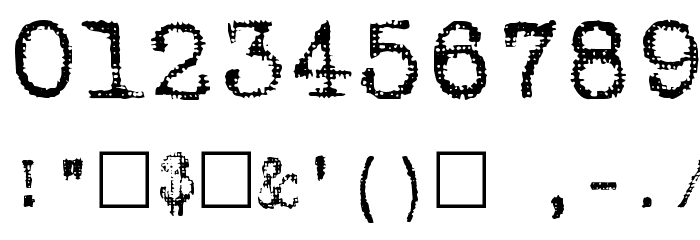 Batik Regular Font OTHER CHARS