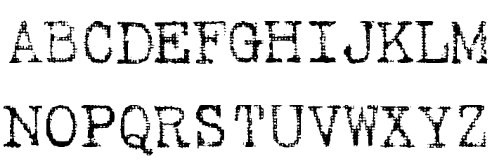 Batik Regular Font UPPERCASE