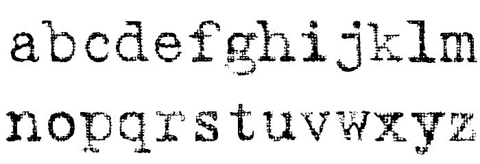 Batik Regular Font LOWERCASE