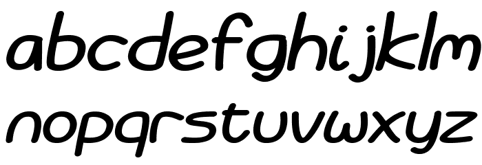 Battenberg and Custard Bold Italic Fonte MINÚSCULAS