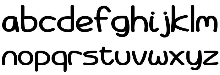 Battenberg and Custard Bold Font LOWERCASE