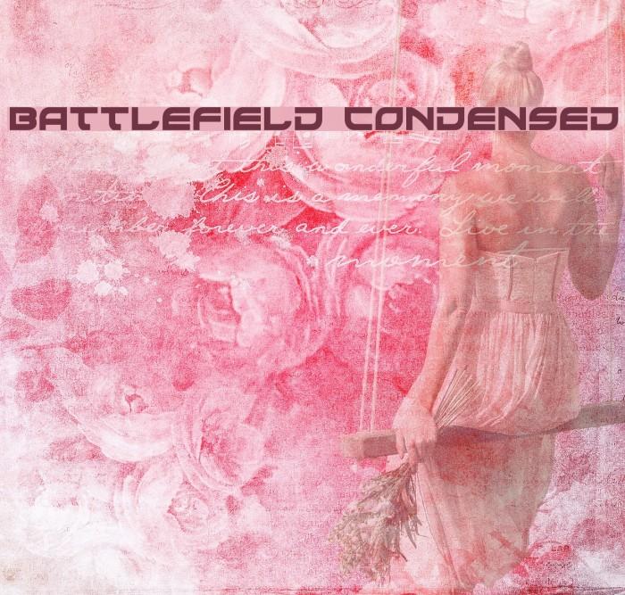 Battlefield Condensed Fonte examples