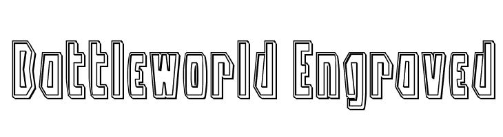 Battleworld Engraved  baixar fontes gratis