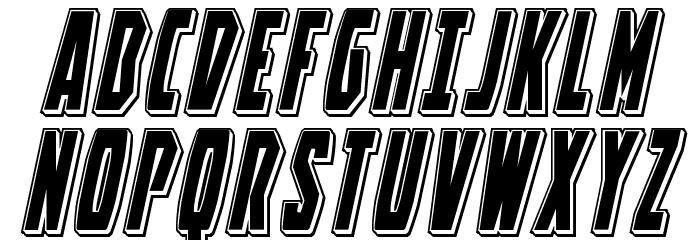 Battleworld Punch Italic Font UPPERCASE