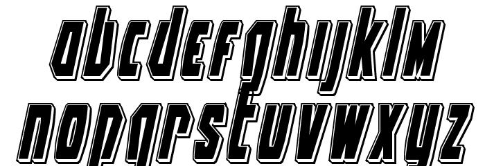 Battleworld Punch Italic Font LOWERCASE