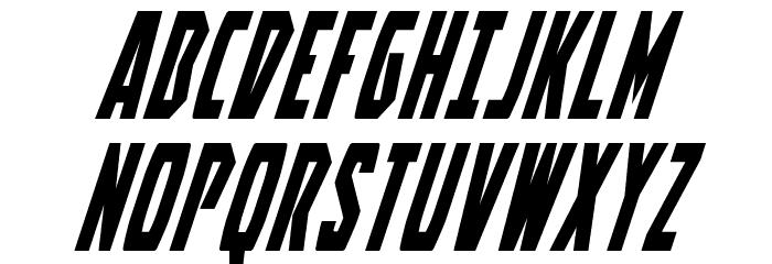 Battleworld Super-Italic Font UPPERCASE