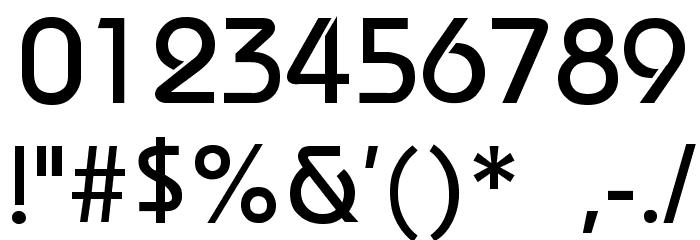 Bauhaus-Thin Font OTHER CHARS