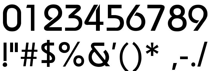 Bauhaus Fonte OUTROS PERSONAGENS