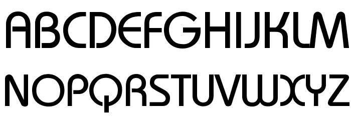 Bauhaus Шрифта ВЕРХНИЙ
