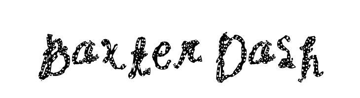 Baxter Dash  Free Fonts Download