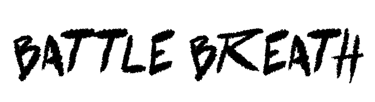 battle breath  Free Fonts Download