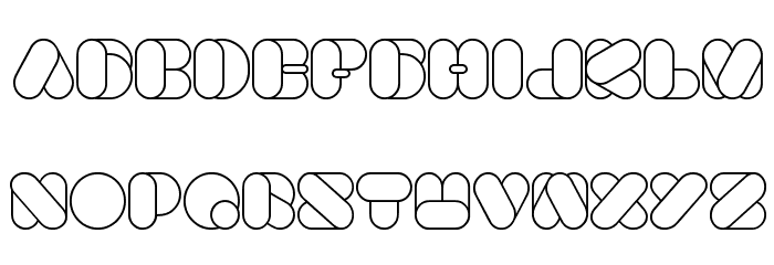 BEAUTIFUL Font UPPERCASE