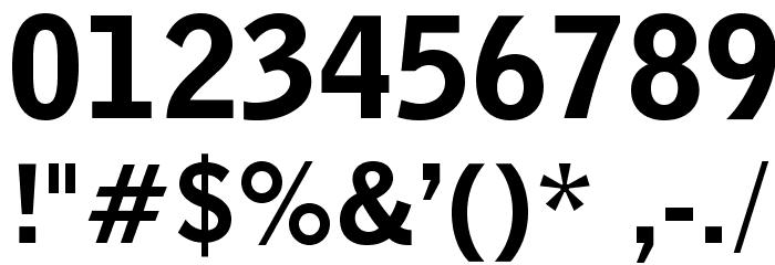 BENETOpti-Black Font OTHER CHARS