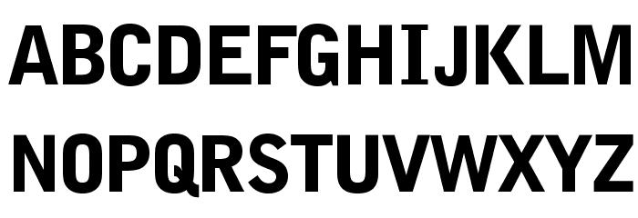 BENETOpti-Black Font UPPERCASE