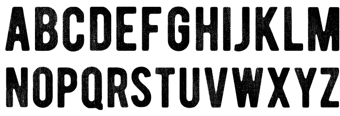 BERNIERDistressed-Regular Font Litere mici