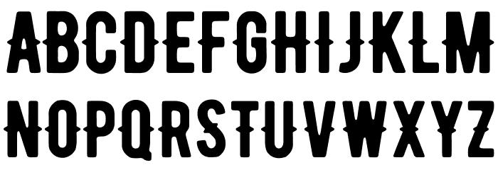 BERNIERRegular-Regular Font UPPERCASE