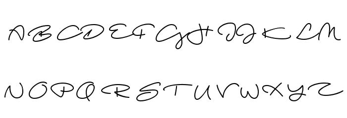Beach Script Regular Font UPPERCASE