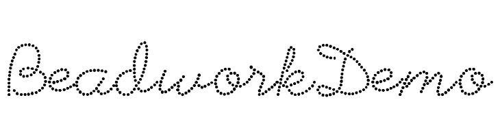 BeadworkDemo  Скачать бесплатные шрифты