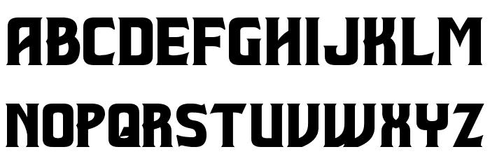 Beastformer Font LOWERCASE