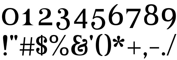 Beau-Regular Font OTHER CHARS