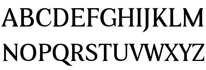 Beau-Regular Font UPPERCASE