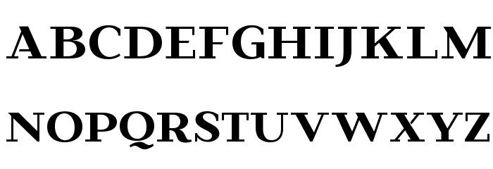 Beaumaris Demo Regular Font UPPERCASE