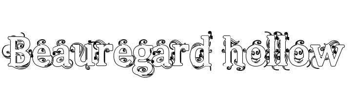 Beauregard Hollow  Free Fonts Download