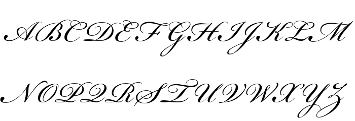 Beautiful ES Font UPPERCASE