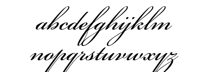 Beautiful ES Font LOWERCASE