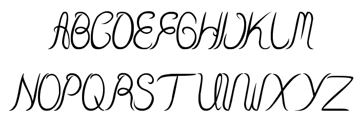 Beauty And The Best Font UPPERCASE