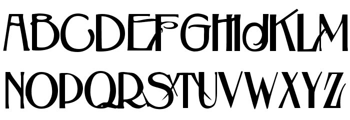 Beauvoir Demo Font LOWERCASE