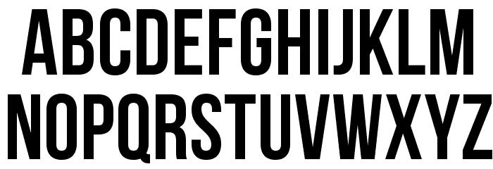 BebasNeue Font LOWERCASE