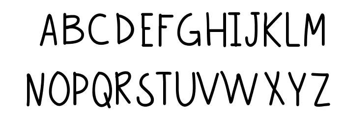 Becca Font LOWERCASE