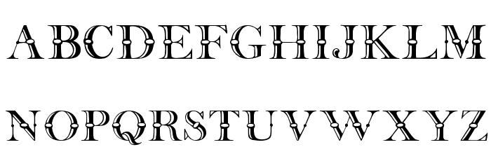 Beffle Medium Font UPPERCASE