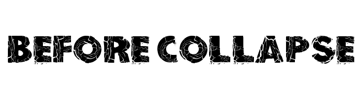 Before Collapse  Free Fonts Download