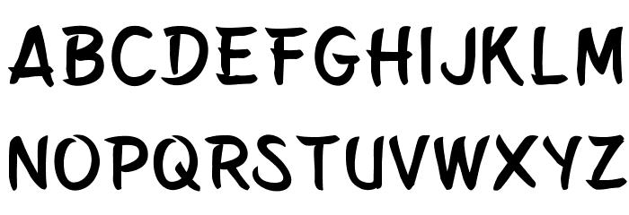 Belepotan フォント 小文字