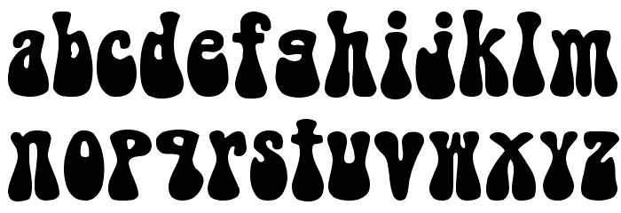 BellBottom.Laser Font LOWERCASE