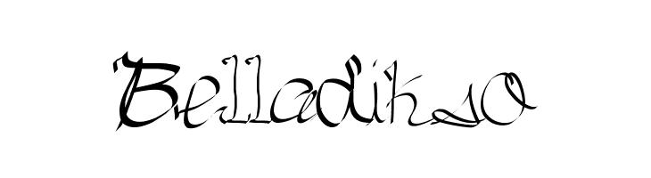 Belladikso  Скачать бесплатные шрифты