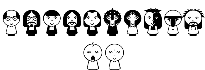 Beluz Family Font OTHER CHARS