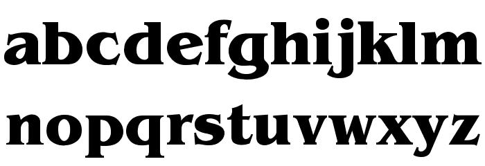 Benguiat-Bold Font LOWERCASE