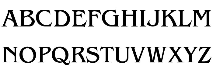 Benguiat-Light Font UPPERCASE