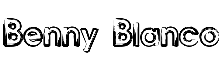 Benny Blanco  Free Fonts Download