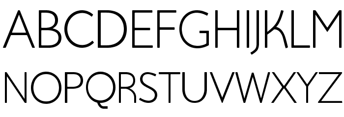 Beo Font UPPERCASE